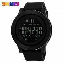 Original design black 큰 dial 패션 방수 <span class=keywords><strong>실리카</strong></span> <span class=keywords><strong>젤</strong></span> 끈 skmei 1255 digital smart watch 대 한 men