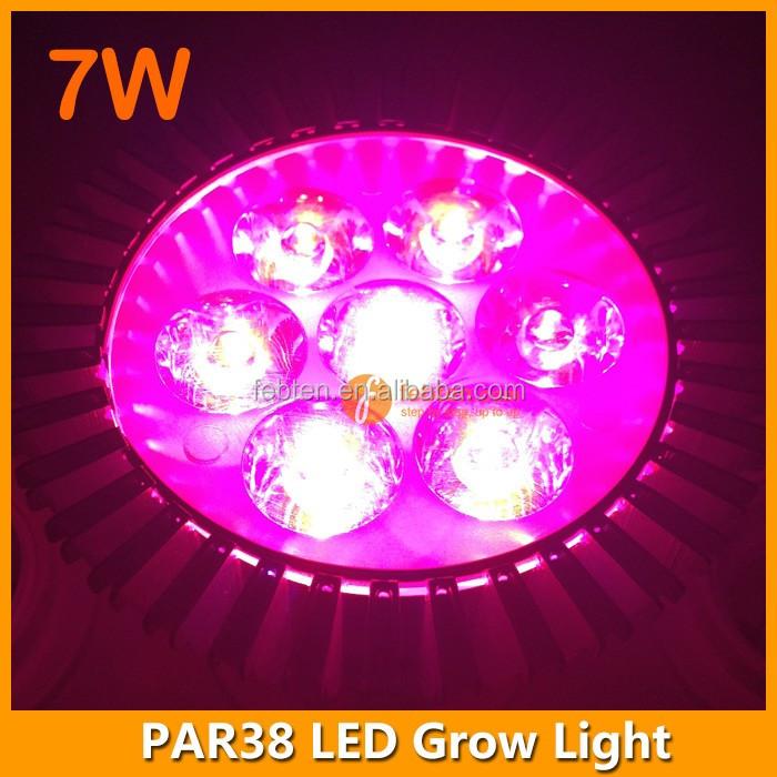 Plants Growth E27 7w Led Gardening Grow Light Bulb For Hydroponic ...