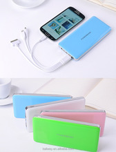 New design mobile battery charger ,ultra-thin power bank for iphone7 Phone Charger Case