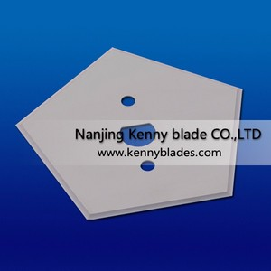 Factory Direct Sale Tungsten Carbide Pentagonal Plastic Bag Cutting Blade