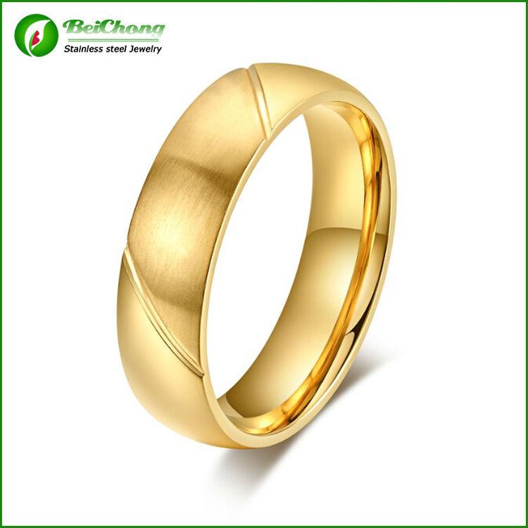 the gallery for gt designer plain gold ring