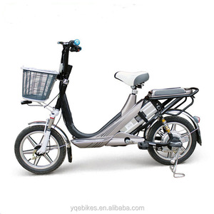 China Factory Electric Bicycle 2017 Brushless 48V 240W Scooter Cheap Electric Motorcycle