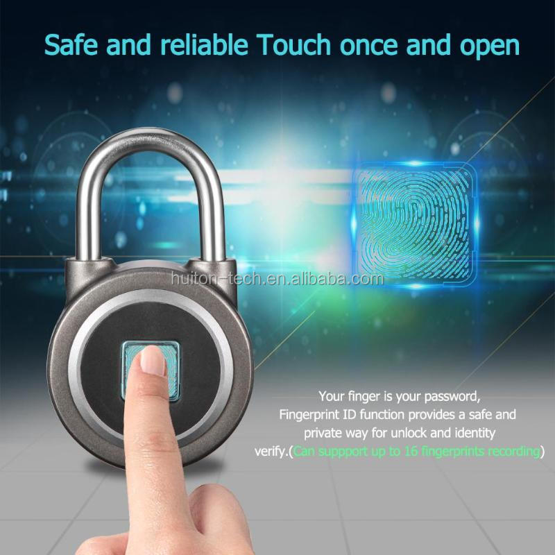 APP Access Control Safe Password Keypad Smart Digital Fingerprint Door Lock