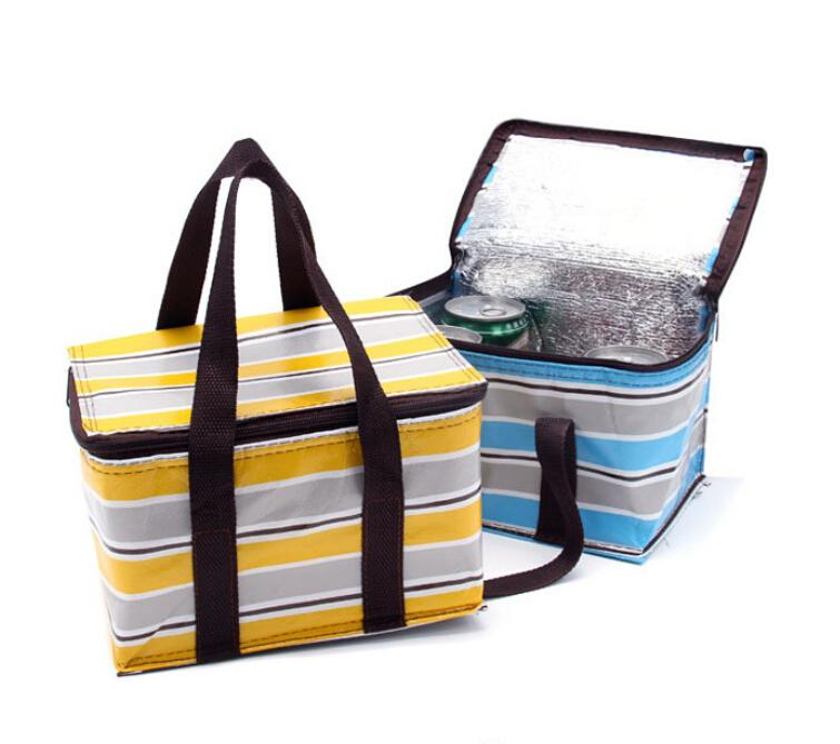 Brand 2015 NEW! 21*15*12.5cm warmer Insulated and Summer Cooling Cooler bags for Lunch bags & Yellow,Blue