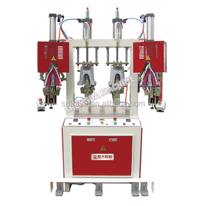 SD-622B Heel set shoe making machine two hot cold backpart shoe moulding machinery