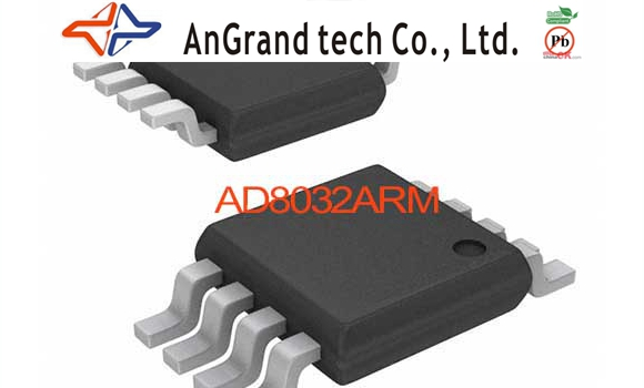 AD8032ARM IC OPAMP VF R-R DUAL LP 8MSOP AD8032ARM 8032 AD8032 AD8032A AD8032AR 8032A