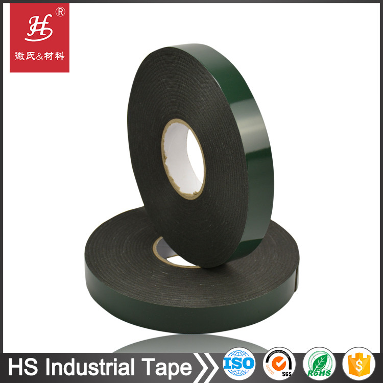 5 days delivery time ! Waterproof automobile double sided adhesive PE foam tape