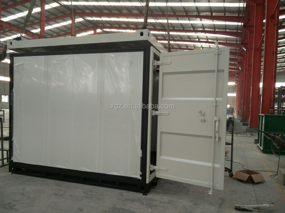16 feet high quality folding container house for wholesales