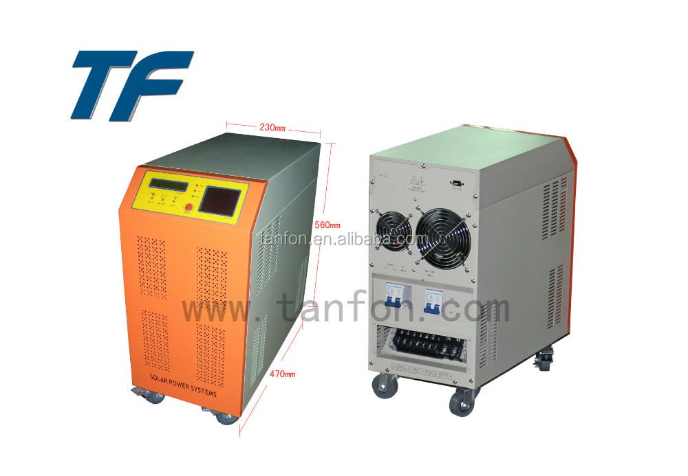 High quality 3KW 5KW 6KW 8KW solar energy pure sine wave inverter price /10KW ups inverter battery charger battery