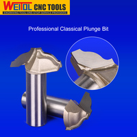 Weitol woodworking router bits classical raised plunge bit from China