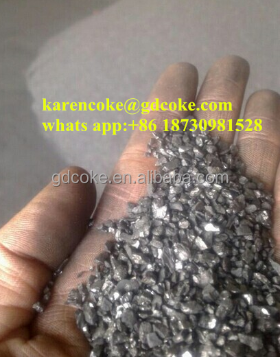 Calcined anthracite coal/carbon additive for steelmaking used FC 95%min