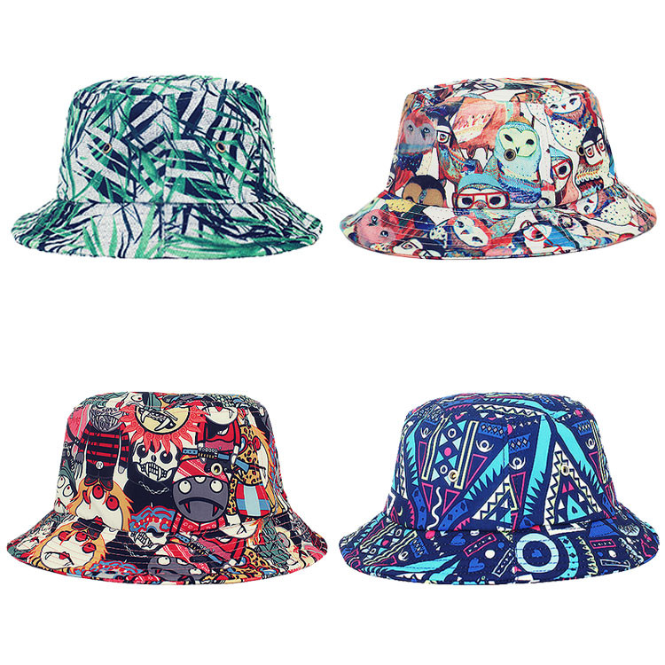 c7a5c0d38f7 2016 Fashion Custom Design Your Own Wide Brim Bucket Hat With String ...