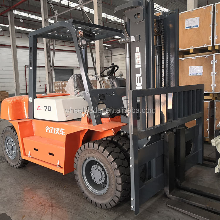 Heli CPCD60 Diesel 6 Ton Forklift Truck for Factory