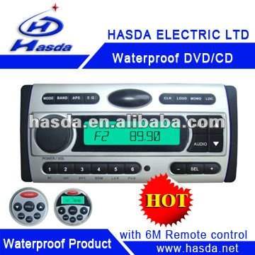 Motocycle sound waterproof DVD/CD/Mp3/Radio player H-3008
