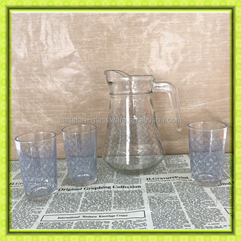 Factory Direct Sale,Glass Water Jug Set,Drinking Glass Pitchers ...