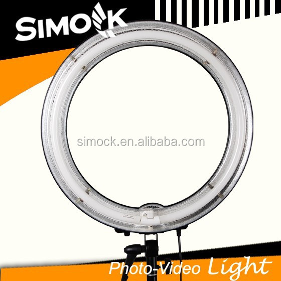 Ring shape digital continuous studio light 75w