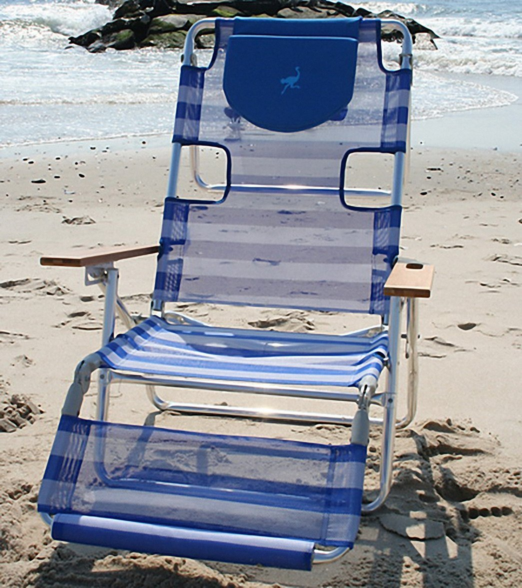 Cool Buy Ostrich Face Down 3N1 Reclining Beach Chair With 5 Frankydiablos Diy Chair Ideas Frankydiabloscom