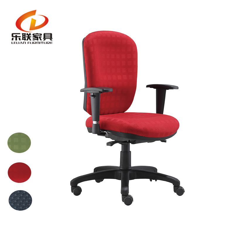 Nylon Base Executive work office staff desk and chair modern fabric recaro office swivel chair with arms