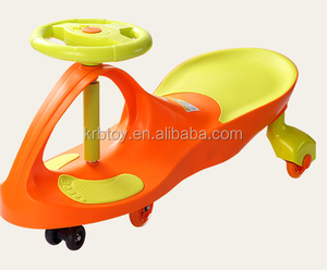 cheap price fashion plastic baby plasma toys outdoor kids swing car