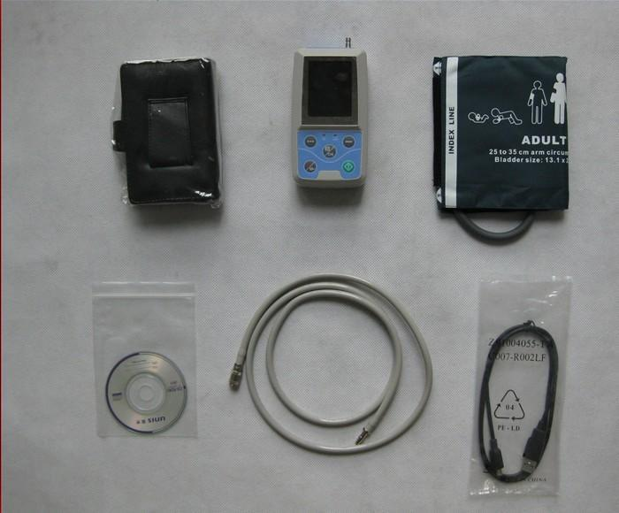 ABPM50 LCD Ambulatory Blood Pressure Monitor with USB Software blood pressure apparatus