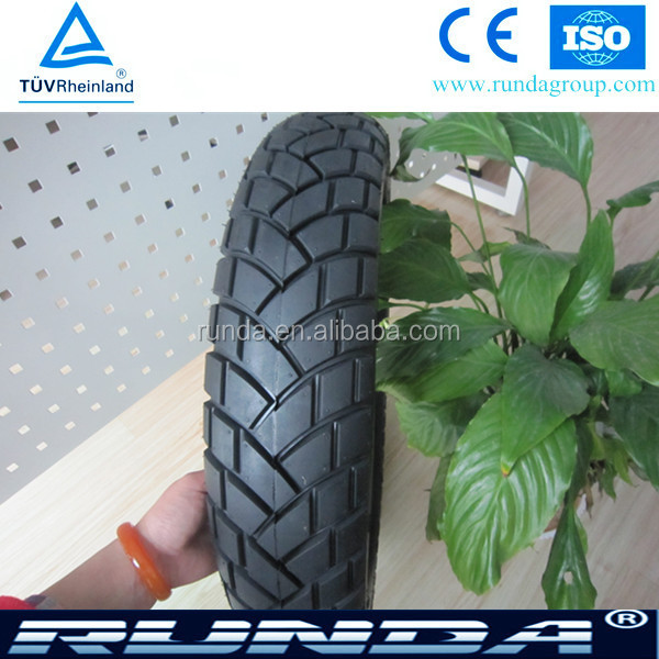 high rubber content off road tubeless tyre 110/90-17