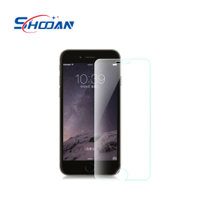 Wholesale clear front screen protector hd toughened protective film for iphone 6s