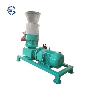 China manufacturer supply directly automatic wood pellet making machine/wood pellet mill/wood pellet production line