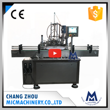 Micmachinery anti-explosion MIC-L40 automatic nail polish bottle filling capping machine