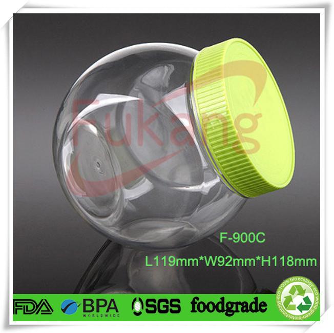 1500ml Food Grade Transparent Heart Shape Plastic Pet Bottle With ...