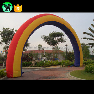 Rainbow Inflatable Arch/Arch Door/Archway Entrance For Event Party Decoration Customized A588