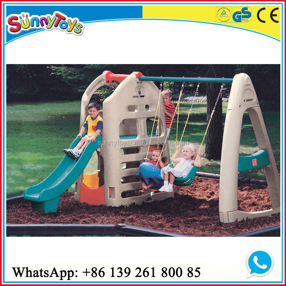 kinder spielhaus schaukel und rutsche spielhaus spielplatz produkt id 60367722542. Black Bedroom Furniture Sets. Home Design Ideas