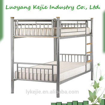 military housing strong bunk bed for kids cold-roll steel top quality  school dormitory bed