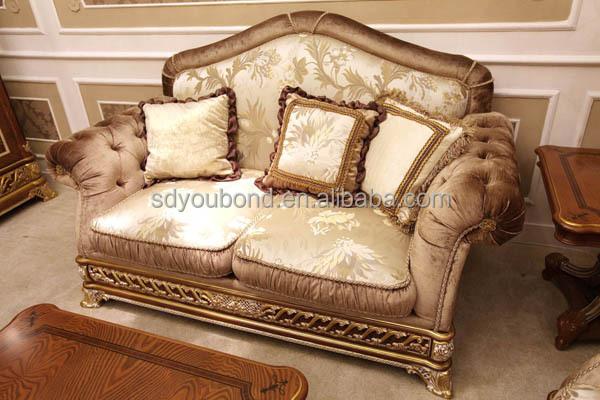 0062 royal antique living room furniture italian classic - Classic italian living room furniture sets ...