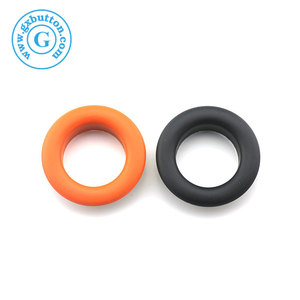 Fashion metal eyelets and grommets for garment shoes bag