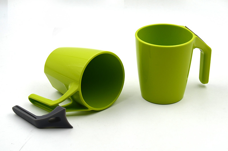 GREEN and Rapid Degradation corn starch material healthy water cup with silicone base for gifts