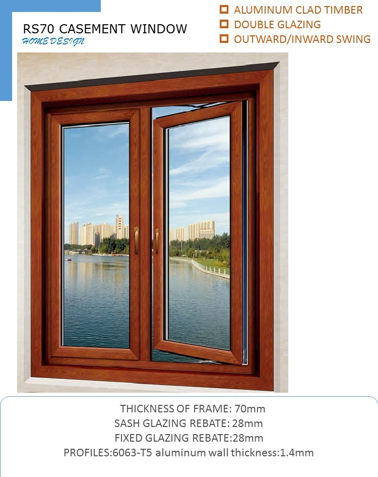 China manufacturer standard casement window sizes buy for Window manufacturers