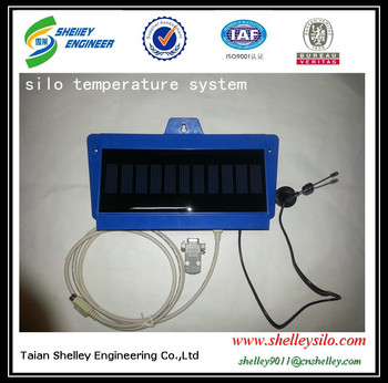 maize silo temperature moisture monitoring system