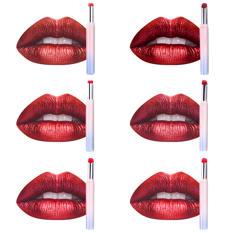 Oem Silky Texture Cosmetic Moisturizing Makeup Private Label Slim Pen Lipstick