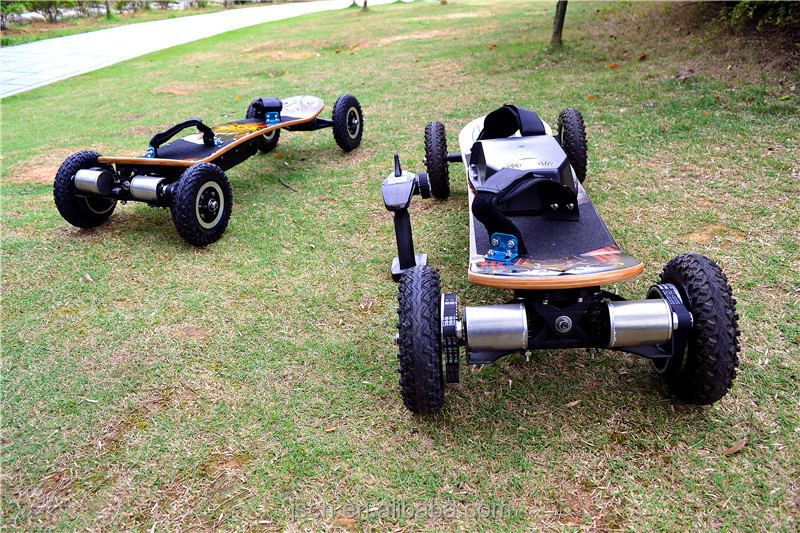 2015 New Lithium Battery Electric Mountain Board With