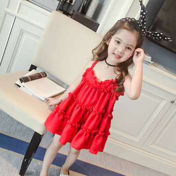 77fced886259 Shopping Online Red Party Thai St Patrick Wedding Dress For Kids ...