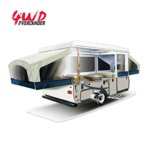 AUS Custom Affordable Pop Up RV Campers Trailer