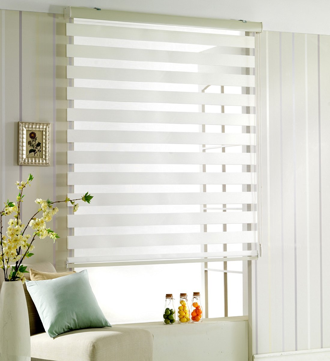 72 inch blinds shade custom cut to size winsharp woodlook 72 horizontal window shade blind zebra dual cheap 72 inch wide blinds find blinds deals on line at