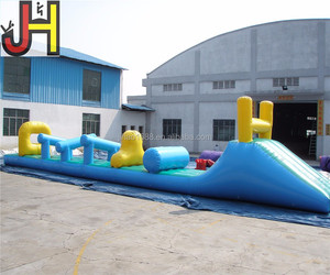 Outdoor Inflatable Floating Water Obstacle Course for Water Park