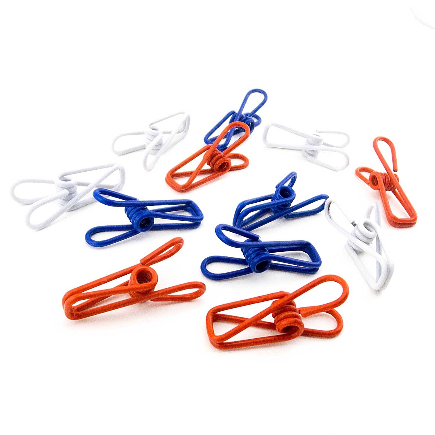 Buy Adorox Colorful Multi-purpose Metal Clips Holders Spring Clips ...