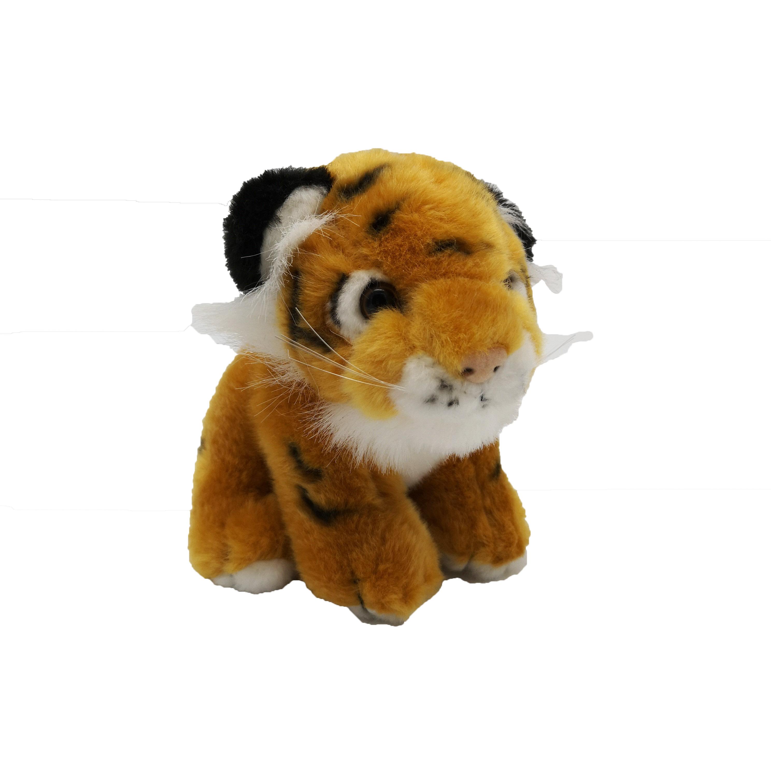 Small Soft Plush Cuddly Toy Tiger 40cm with Tiger Roar