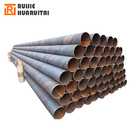 Oil and gas ssaw spiral line Pipe, API-5L oil and gas pipeline x42 x52 x56 x60 spiral steel pipe pile