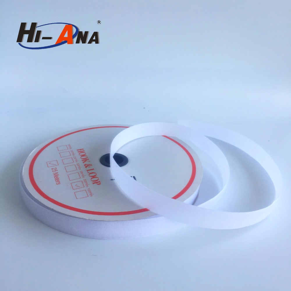 hi-ana stock Manufacturer supply 25mm nylon hook and loop tape