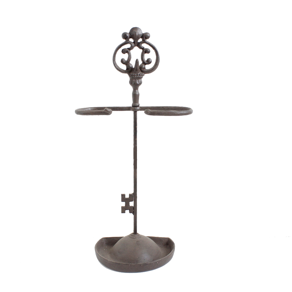 Portable Key Shape Umbrella Stand And Holders For Outdoor Decoration