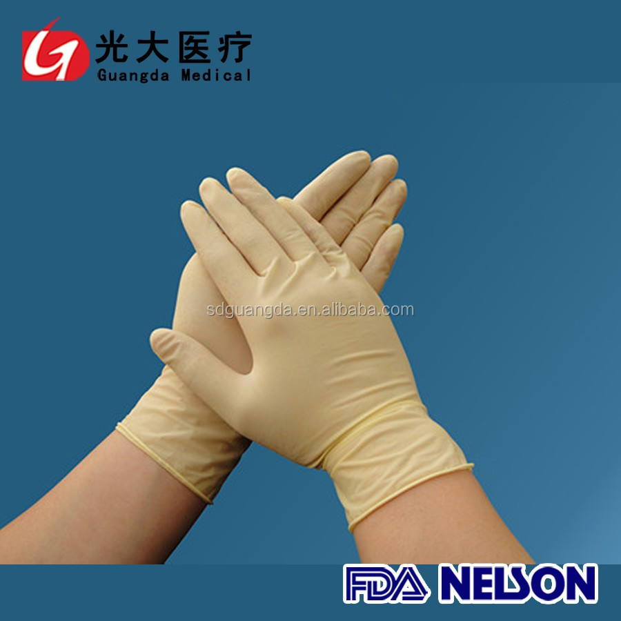 Cheap price disposable latex hand gloves