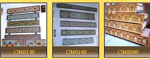 Painted Wood Crown Molding